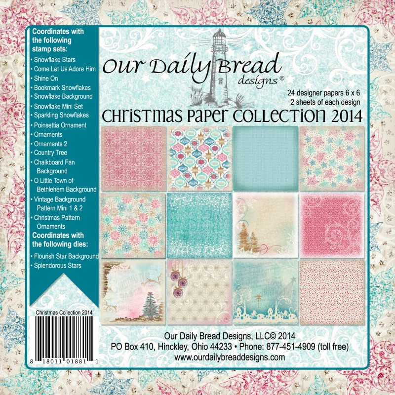Our Daily Bread Designs Christmas Paper Pad Collection 2014