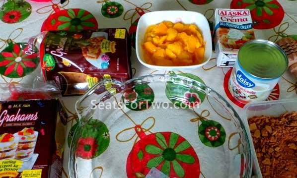 Mango Tiramisu Using Alaska Crema