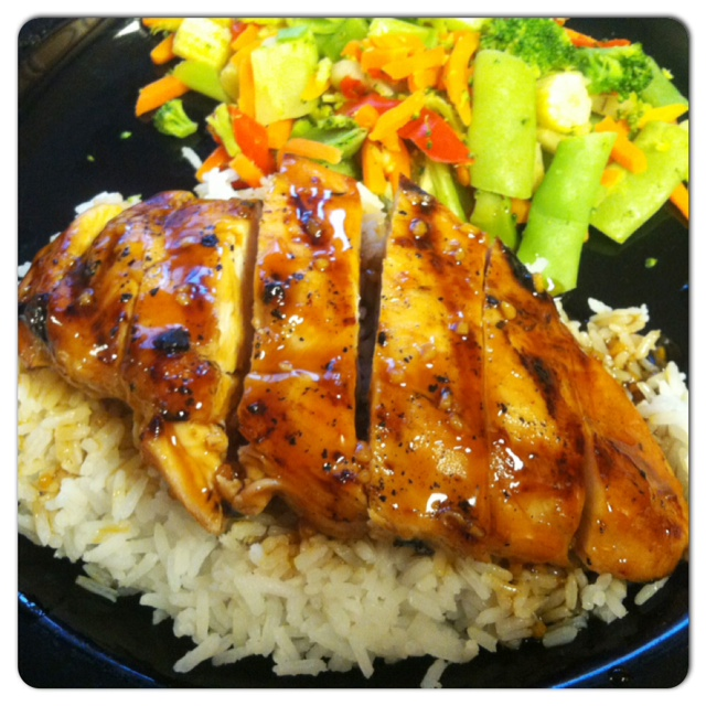 Teriyaki Chicken!
