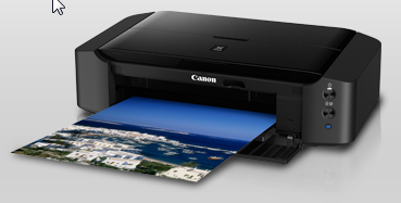 yaitu Salah satu produk canon kategori printer personal mempunyai fungsi tunggal  Pixma iP8770, Mencetak Foto Ukuran A3 Cukup Dengan Koneksi Wi-Fi