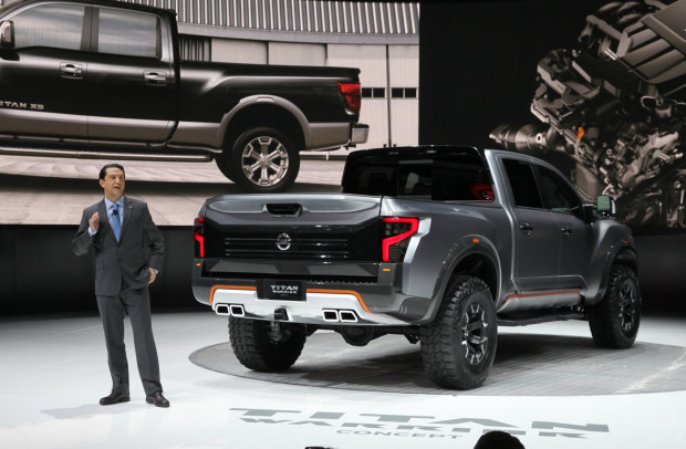 nissan titan warrior 2017 fotos e informa es autos novos. Black Bedroom Furniture Sets. Home Design Ideas