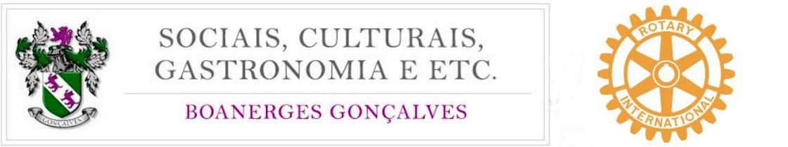 SOCIAIS CULTURAIS, GASTRONOMIA E ETC