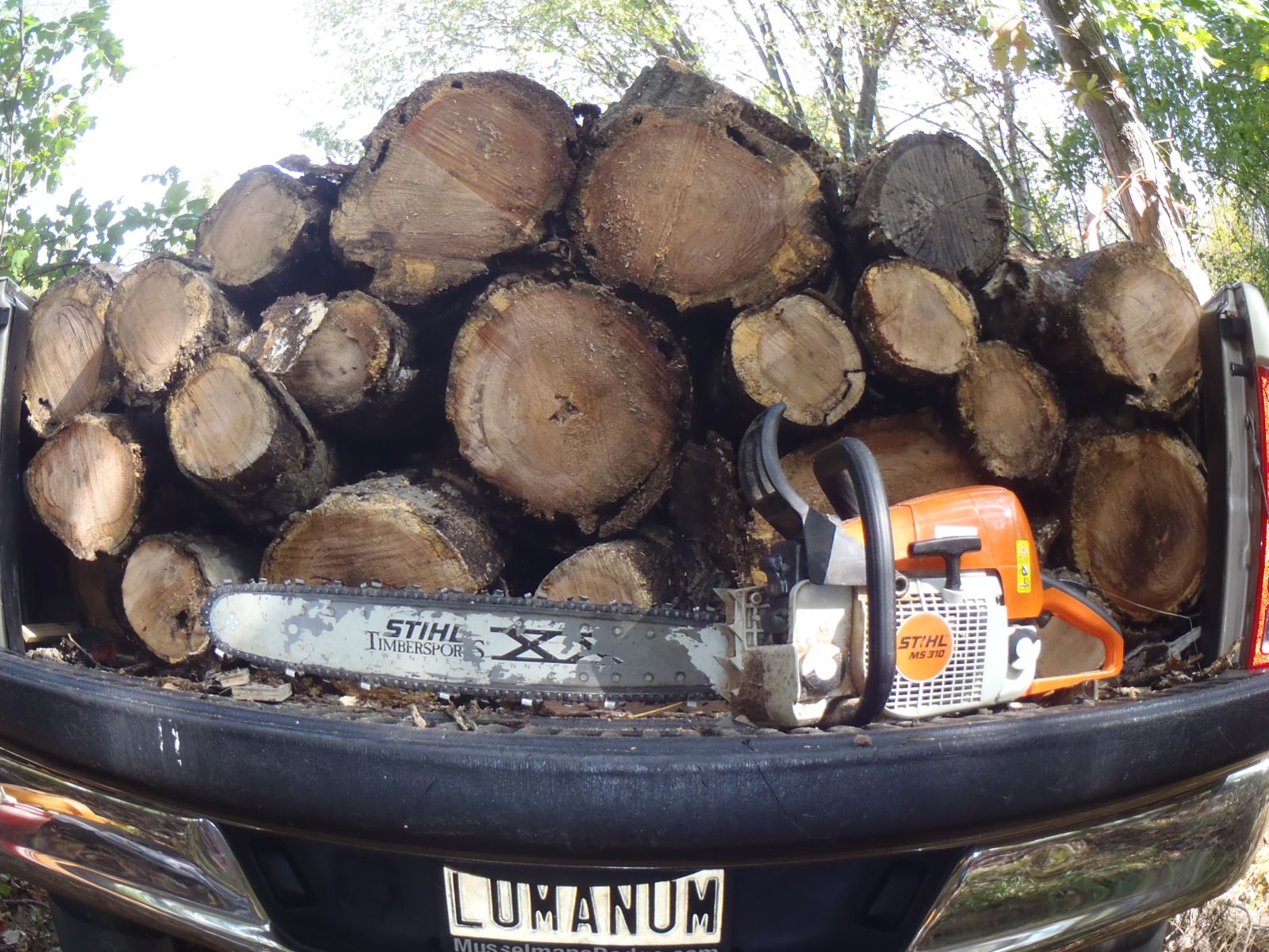 How much wood can a one ton truck haul if a one ton truck hauls wood