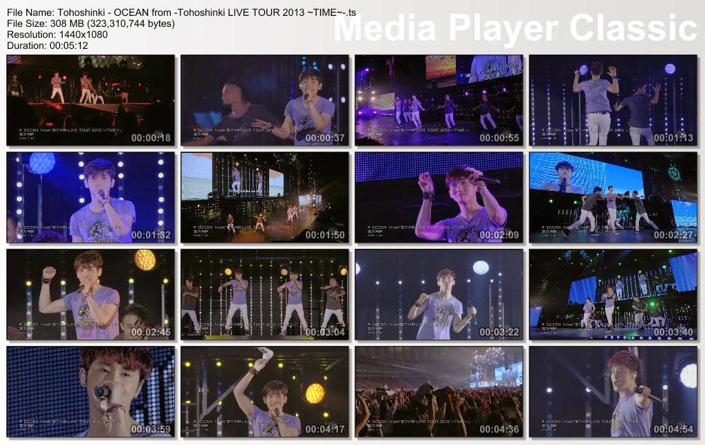 MLBeto1169PVs: [PV] Tohoshinki - OCEAN from -Tohoshinki LIVE TOUR ...