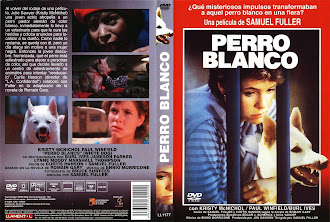Carátula dvd: Perro blanco (1981) (White Dog)