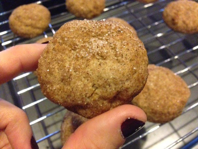 To D I Y For Daily Christmas Cookie Exchange Eggnog Snickerdoodles