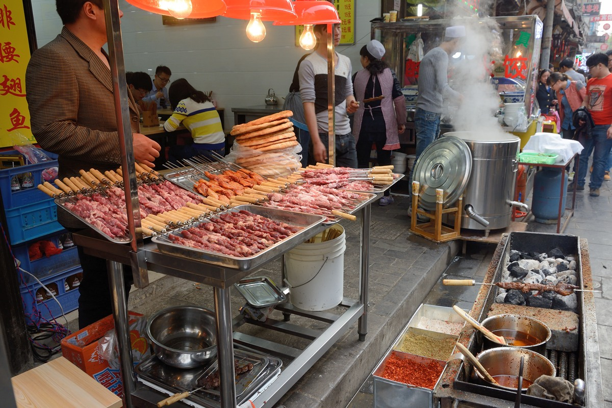 Xi'an snacks - chuan