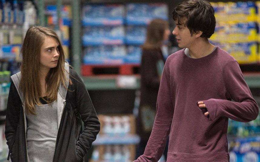 paper towns still with cara delevigne and nat wolff