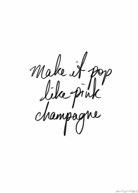 Make it Pop Like Pink Champagne