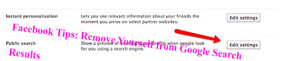 Facebook Tips: Remove Yourself from Google Search   Results
