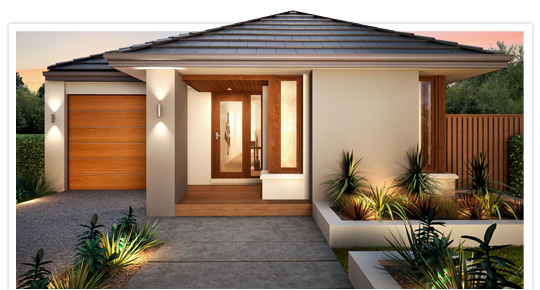 Small modern homes exterior views modern home designs for Small contemporary home designs