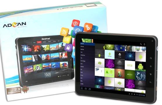 advan vandroid t4 tablet android harga spesifikasi advan vandroid t4 ...