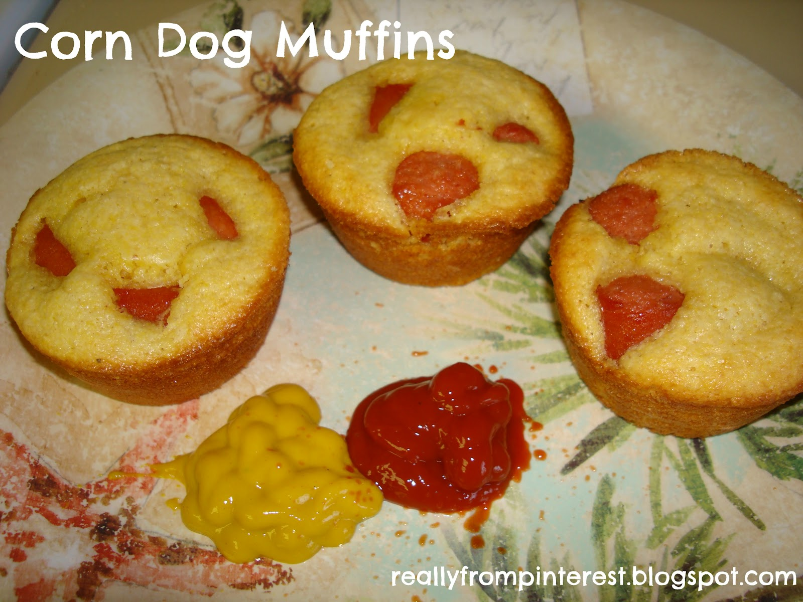 All My Great Ideas Are Really From Pinterest: Corn Dog Muffins