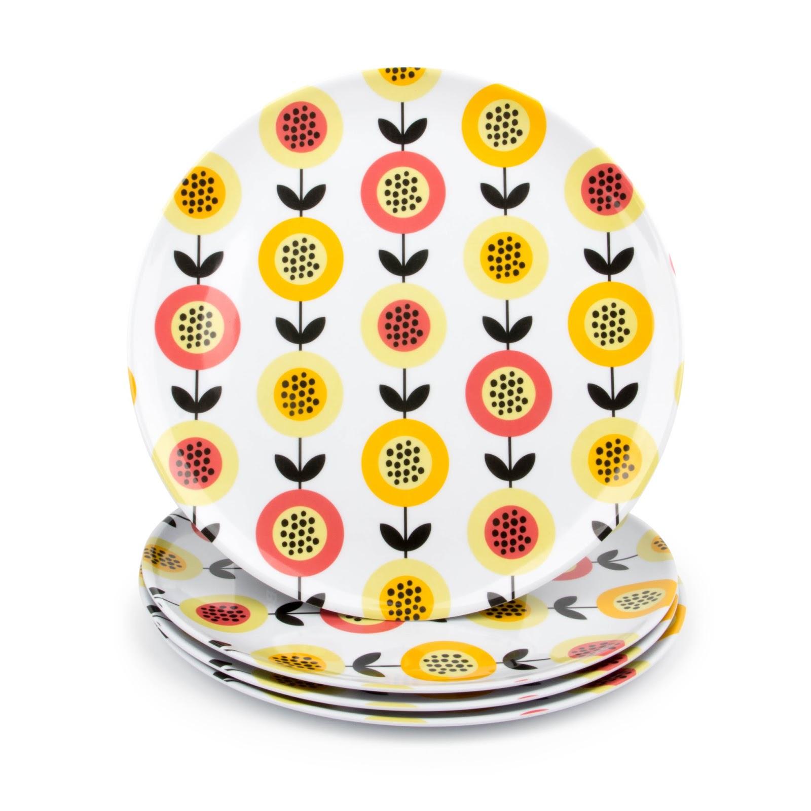 Melamine Picnic / Dinner Plates Set of 4 #theradishstore  sc 1 st  The Aries Man Chronicles & The Aries Man Chronicles: Melamine Picnic / Dinner Plates Set of 4 ...