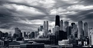 Chicago skyline by John H. White