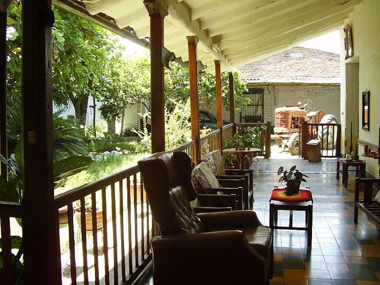 Casa colonial en adobe, manzana 81, Casa Coral en El Cerrito, Valle, Colombia. Fotografía tomada d