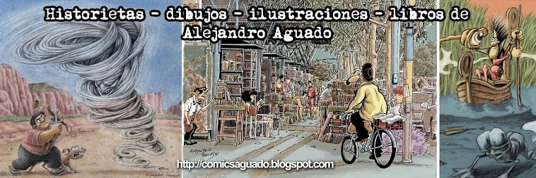 comics e ilustraciones de alejandro h. aguado.
