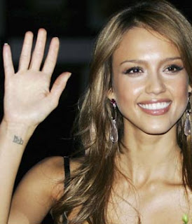 Jessica Alba Tattoo Designs