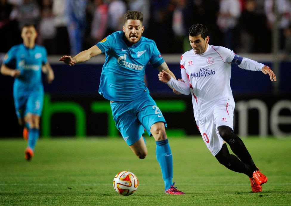 Sevilla FC - Zenit Europa League 2015