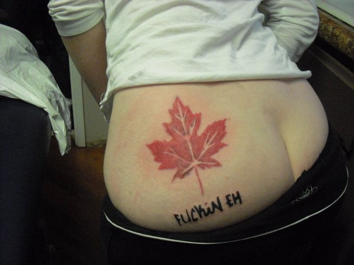 my tattoo designs canada flag tattoo. Black Bedroom Furniture Sets. Home Design Ideas