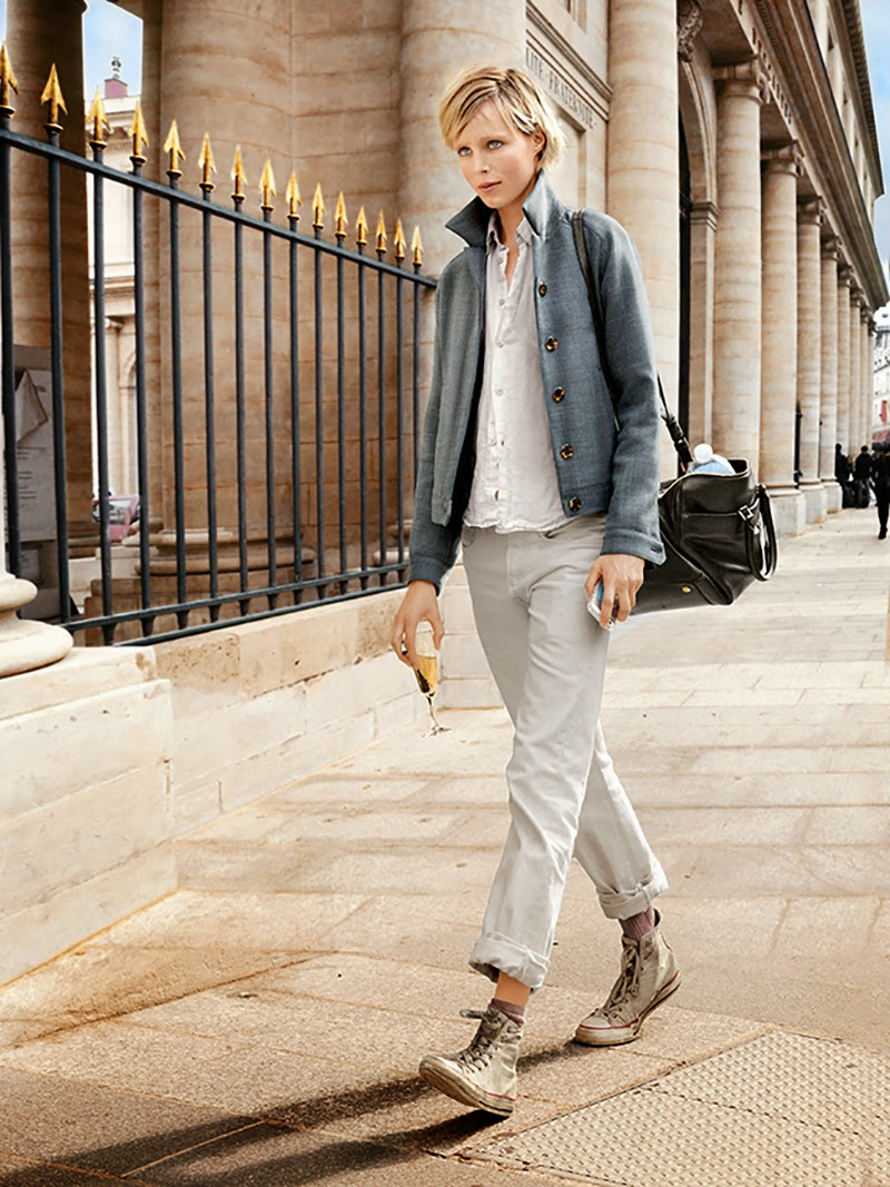 How to wear in soft beige