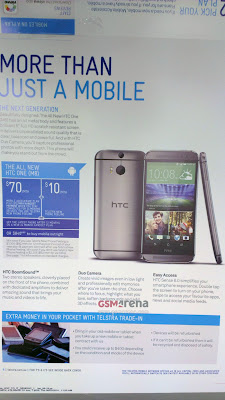 HTC One (2014) brochure