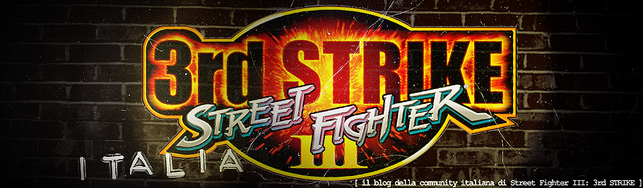 Community italiana Street Fighter III: 3rd Strike