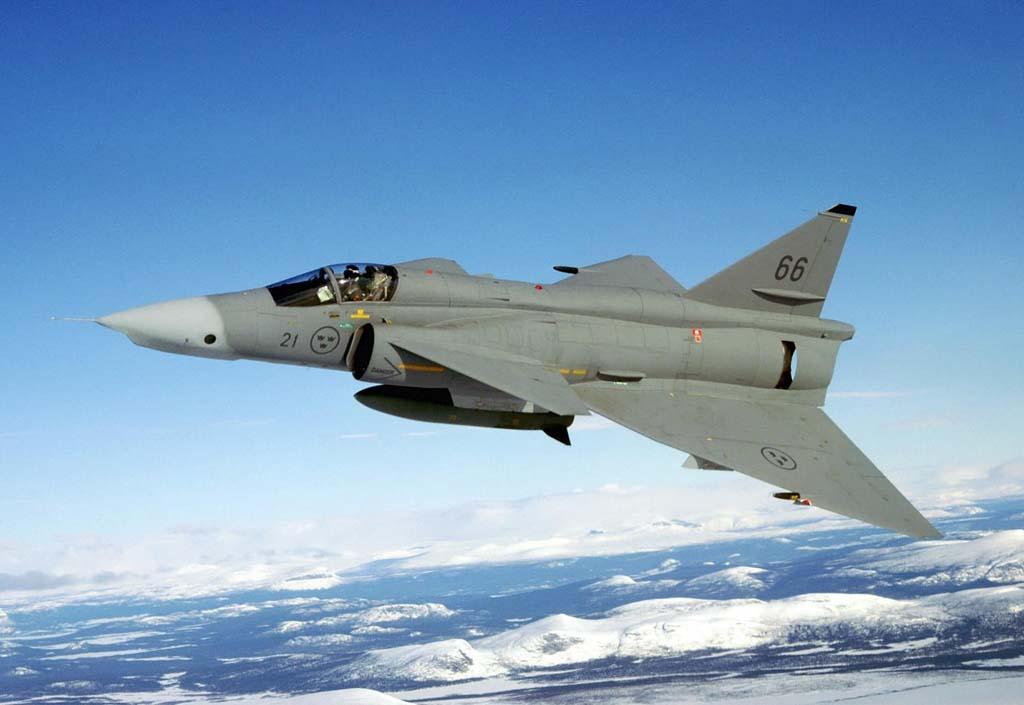 Global War Birds: Saab 37 Viggen