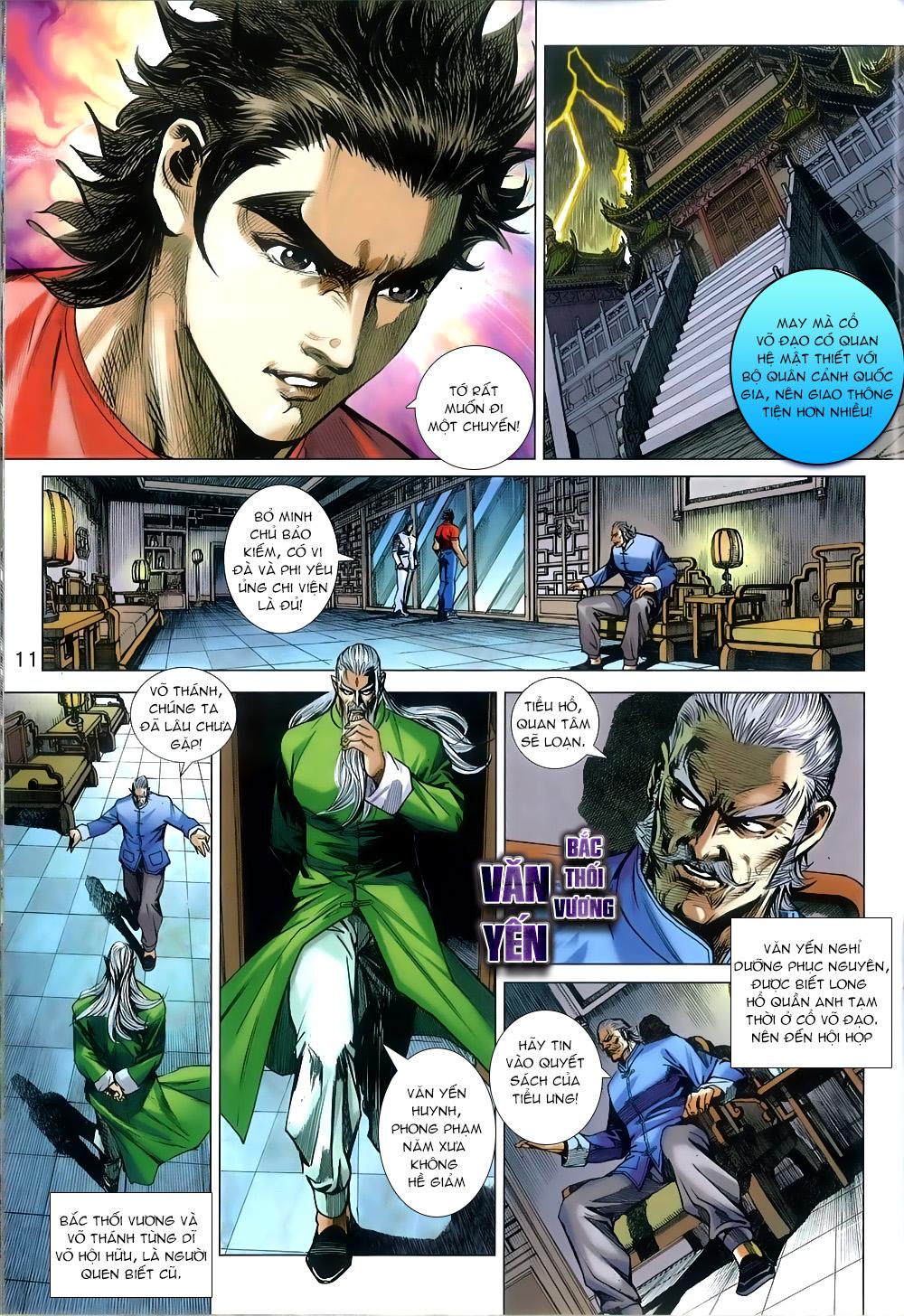 Tân Tác Long Hổ Môn chap 812 Trang 11 - Mangak.info