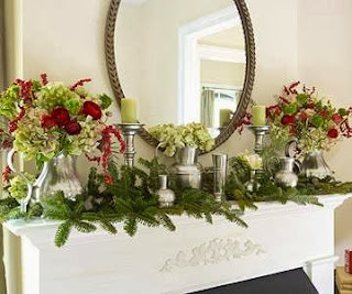 Fireplace Decorating for Christmas, Part 7