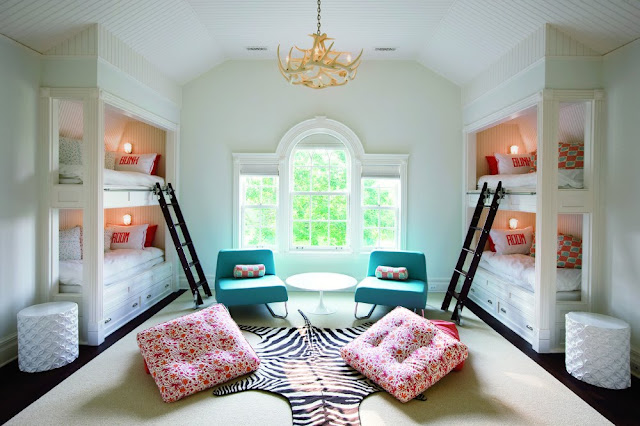 mint green, kids, decor, bedroom, light