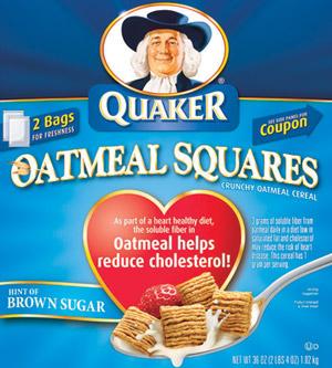 Quaker oatmeal suares