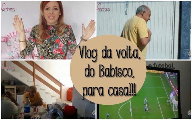 vlog, alta hospitalar, avc, babisco, pai, Luciana De La Vega