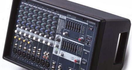 Yamaha Emx  Input Powered Mixer