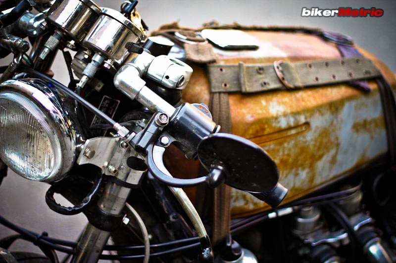 front end detail of ratty canadian gold wing el guapo | mondo lulu photo