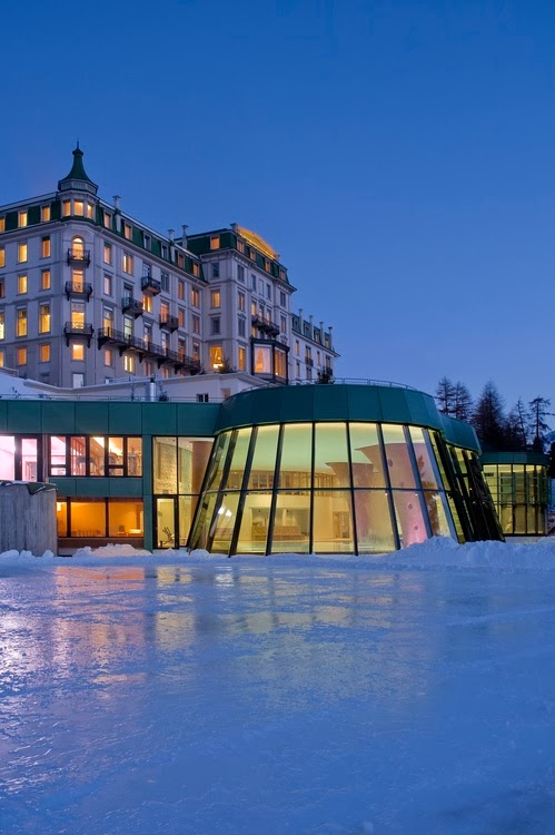 Grand Hotel Kronenhof, Switzerland.