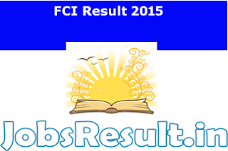 FCI Result 2015