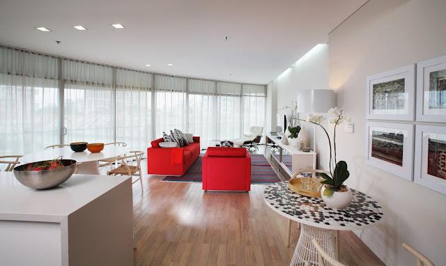 phòng khách mua căn hộ city garden
