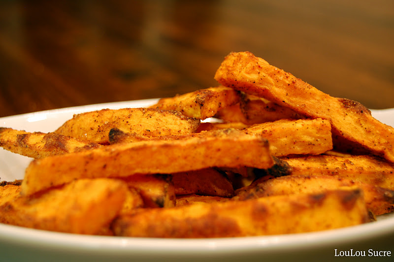 how to make sweet potato fries crispy without cornstarch