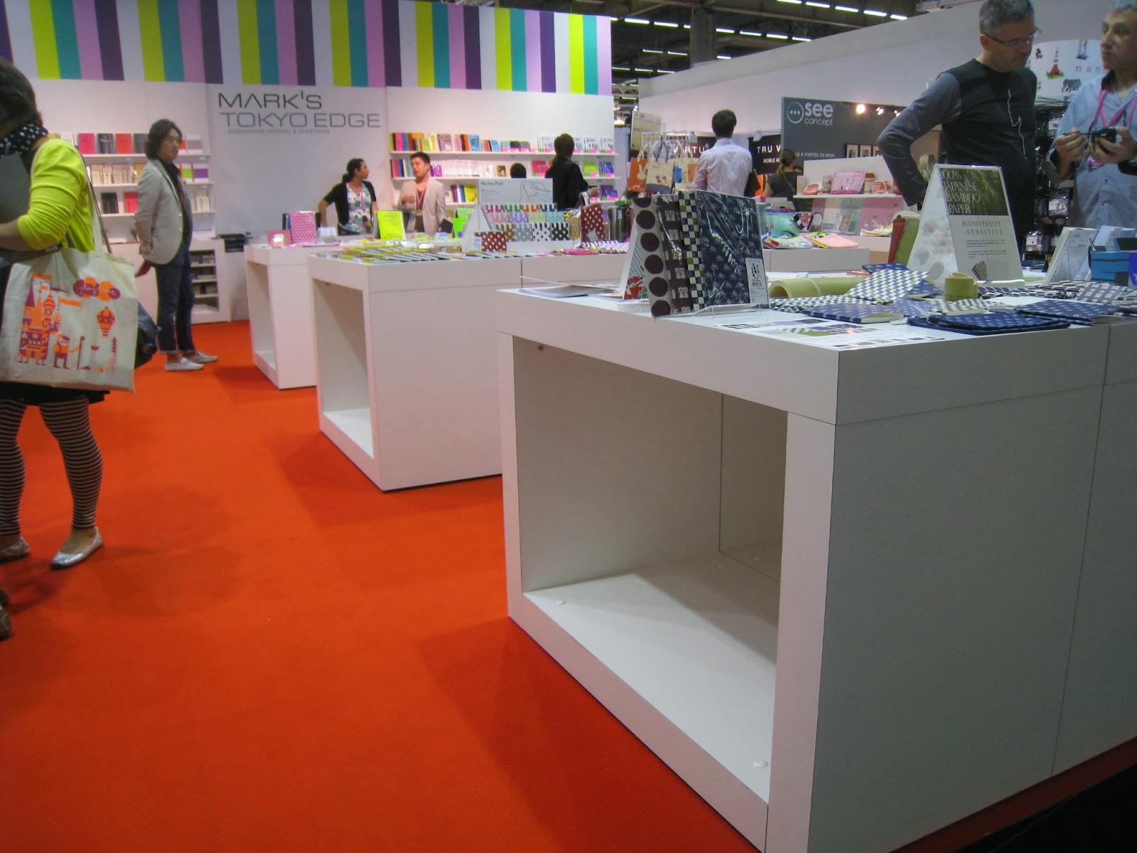 Pbmdesignstudio mark 39 s tokyo edge stand maison objets 2012 - Maison edge aspen studio b ...