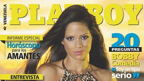 Michelle Lewin Revista Playboy Venezuela Enero 2012