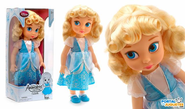 muñeca cenicienta coleccion disney animators nueva edicion