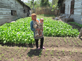 Save The Children Food Security project participant