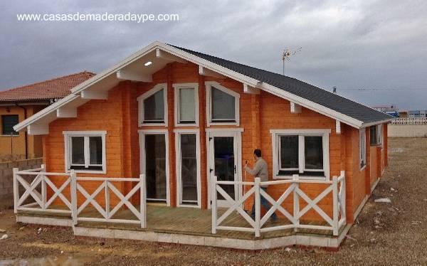 Casa prefabricada de madera en España