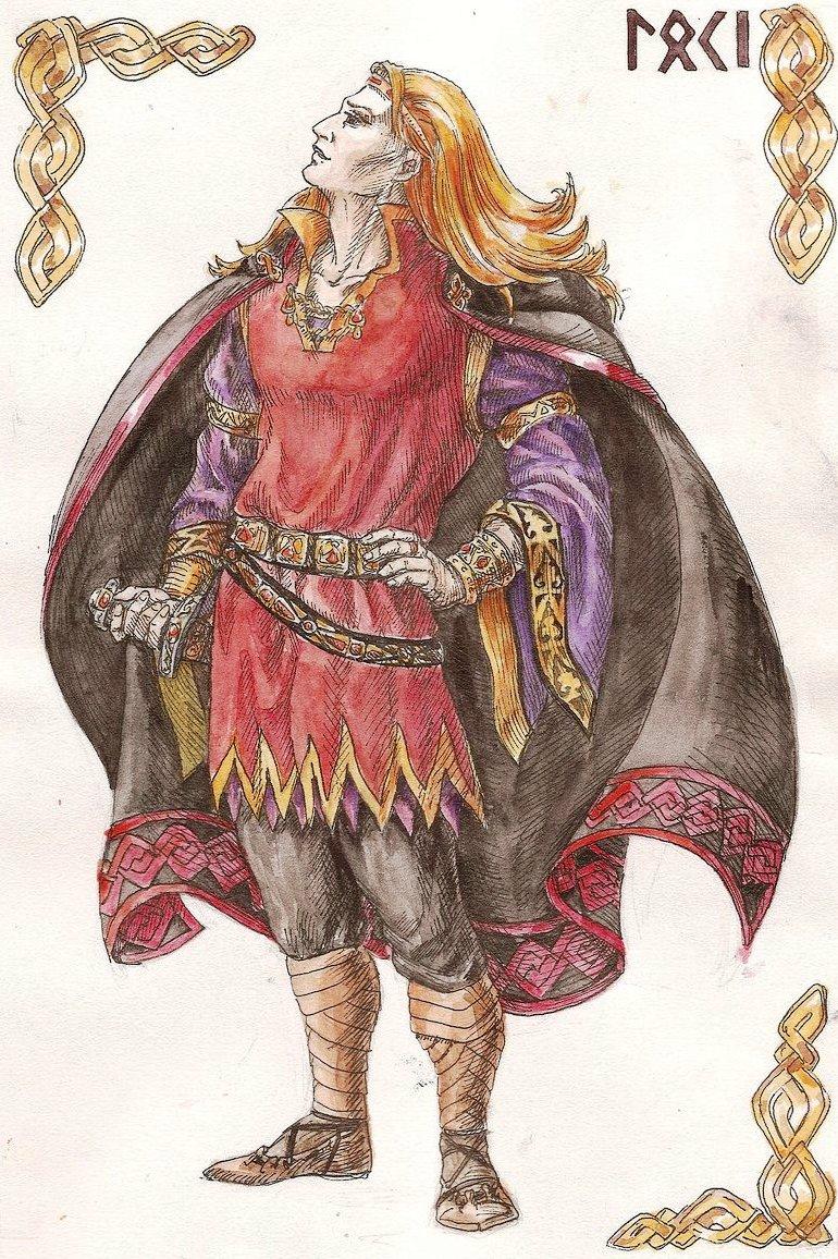 God Loki in Norse mythology 10