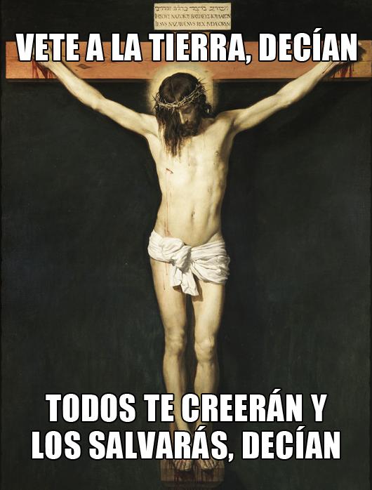 Meme Cristo Crucificado | Ximinia