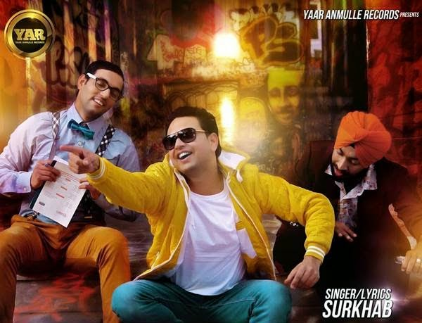 ranjha raji kar layi da lyrics and hd video  surkhab  yaar anmule