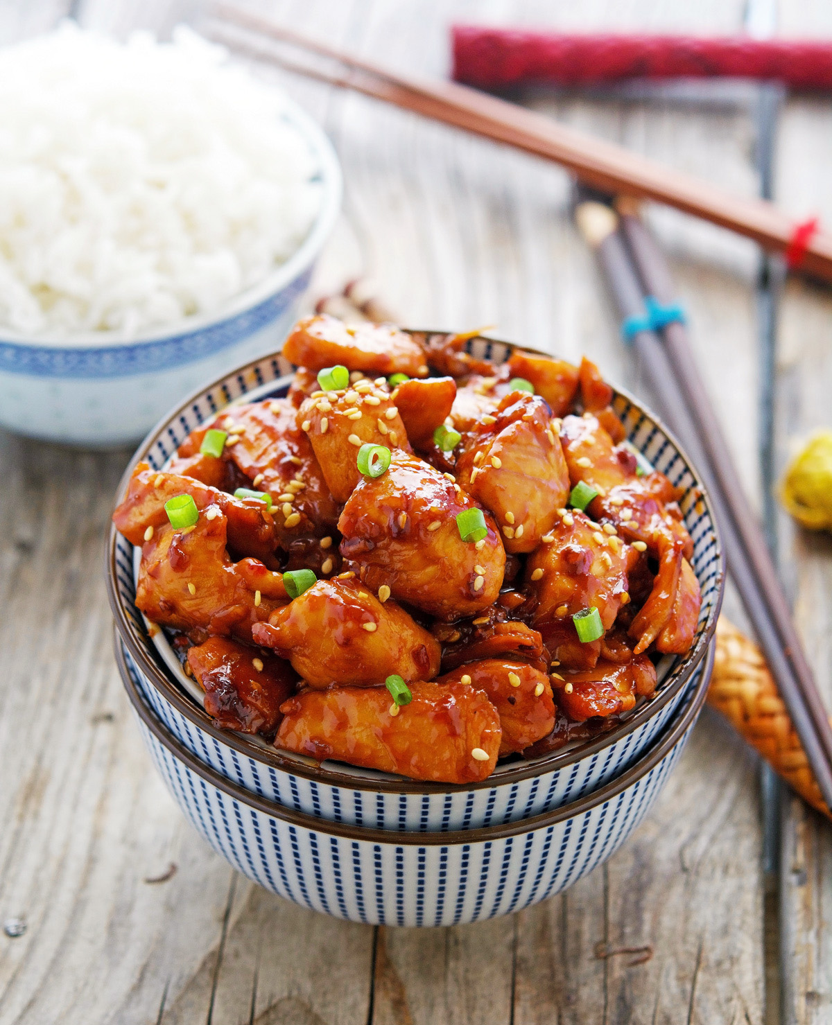 Easy Korean Sticky Chicken