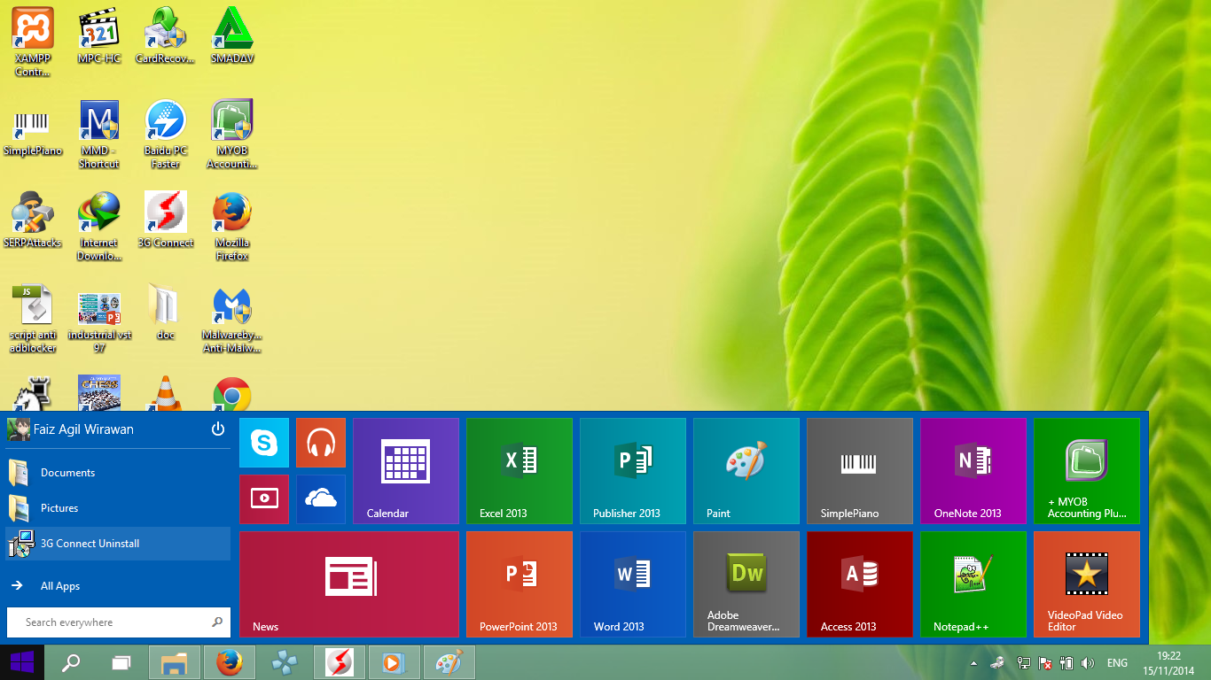 cara memperkecil ukuran start menu windows 10