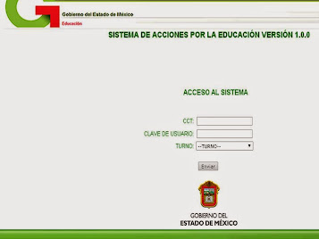 Plataforma de captura-Acciones por la Educación
